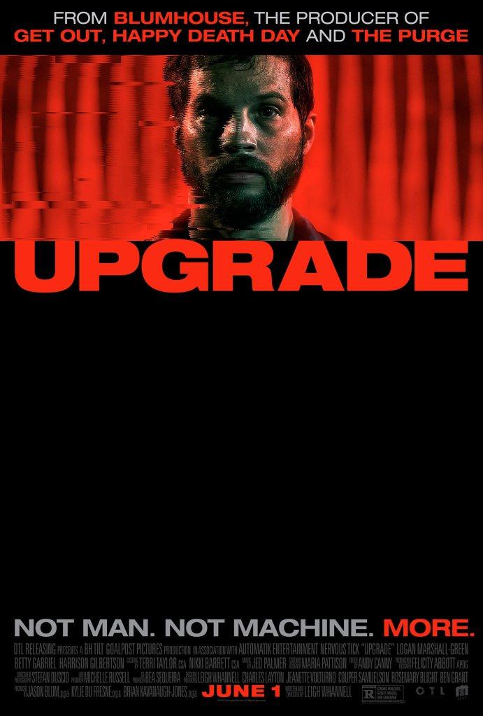 Upgrade (2018) Movie Poster CR: Blumhouse